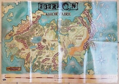 ++ Eberron Khorvaire Poster Map ++ Dungeons & Dragons