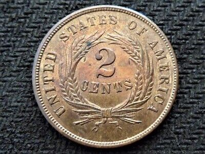 1864 Proof Two Cent Piece VERY Rare Beautiful Example!!!