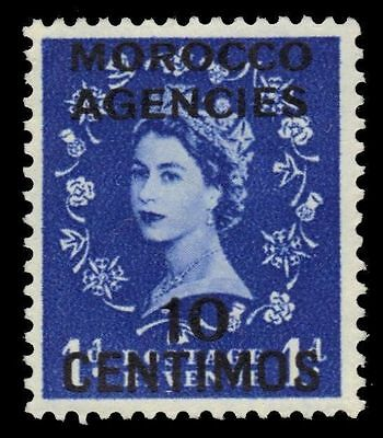 BRITISH OFFICES in MOROCCO  106 (SG188) - Queen Elizabeth II (pf47898)