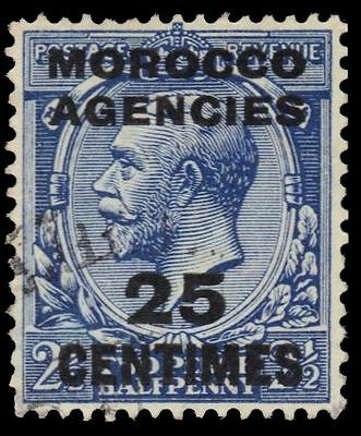 BRITISH OFFICES in MOROCCO  405 (SG195) - King George V (pf10609)
