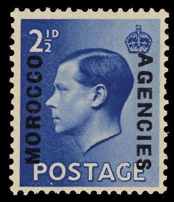 BRITISH OFFICES in MOROCCO 245 (SG76) - King Edward VIII (pf47906)