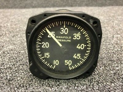 6741-89 Manning Maxwell Manifold Pressure Indicator