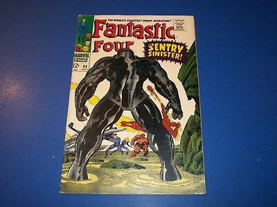 Fantastic Four #64 Silver Age 1st Kree Sentry  Wow