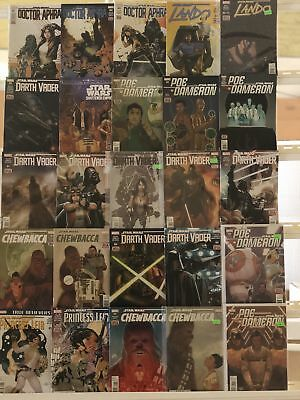Star Wars Comics Huge Lot 25 Comic Book Collection Set Run Books Box 5