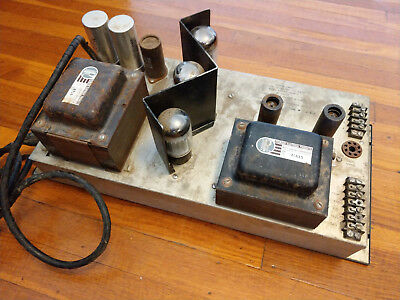 ALTEC 128-B Tube Mono Amplifier Amp with EL34/6CA7 Output - Works & Looks Great