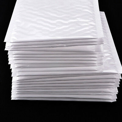 10pcs Poly Bubble Mailers Shipping Padded Bags Package Self Seal Envelopes 4size