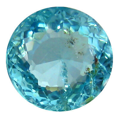 1.68 ct AAA+ Significant Round Shape (7 x 7 mm) Paraiba Blue Apatite Gemstone