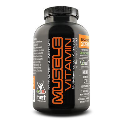 NET INTEGRATORI Muscle Vitamin 120 CPR Multivitaminico ad alto dosaggio