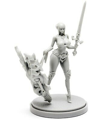 30mm Resin Kingdom Death Paladin Variant Unpainted WH307