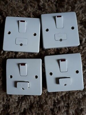 MK 33978RPTTA 13A Fuse Connection Unit Switched Neon Flex Outlet Titanium
