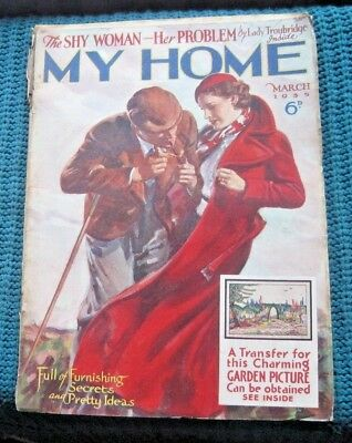 Vintage Magazine,, My Home   March  1935