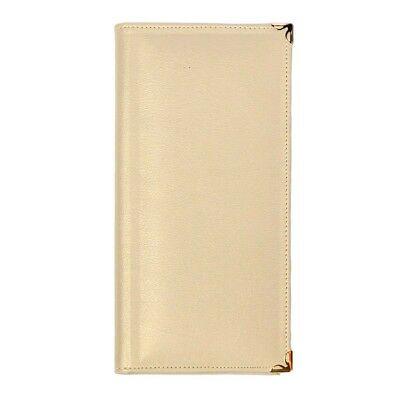 Beige Deluxe leatherette Tract Folio for Jehovah's Witnesses FREE SHIPPING - I3