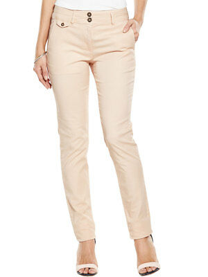 V By Very Double Waistband Chino Trousers