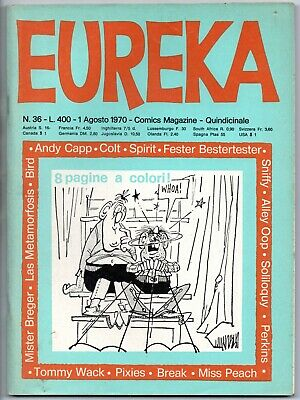 EUREKA N.36 editoriale corno 1970 the watcher magnus il piccolo fiammiferaio