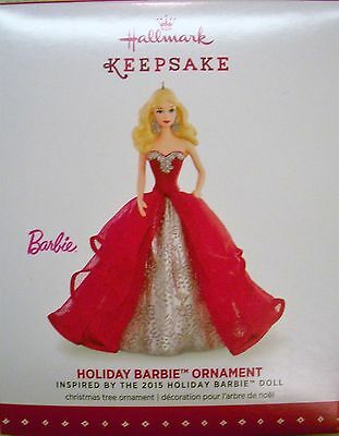 Hallmark - 2015 - Holiday Barbie - 1st in Series - NEW