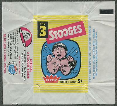 1959 Fleer The Three Stooges Wrapper
