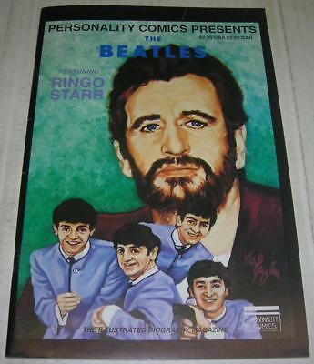THE BEATLES #4 RINGO STARR (Personality Comics 1992) RARE 1st PRINT (FN)