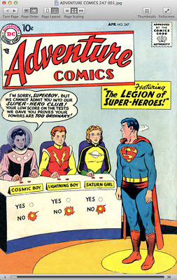 Adventure Comics (1950-1969) featuring Superboy and the Legion of Super-Heroes