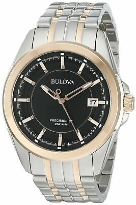 Bulova 98B268 UHF Precisionist Men's Quartz Two Tone Stainless Steel Watch