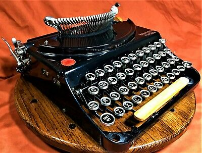 Vintage Remington Typewriter Portable #1~1925 Refurbished Manual Machine w/ Case