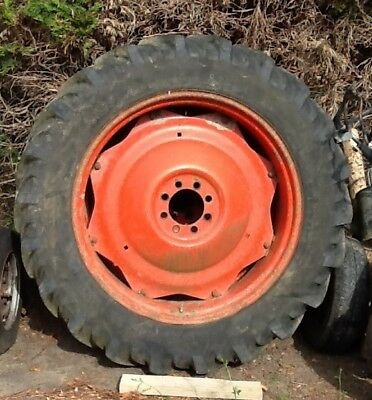 tractor wheels with tyres