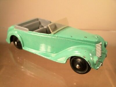 Dinky 38E Armstrong Siddeley reproduction clear plastic screen