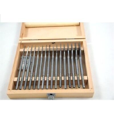 Toolzone 16 PIECE FLAT / SPADE WOOD DRILL BIT TOOL SET 6-38mm (DRILLS / CRAFT )