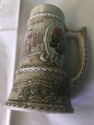 Schlitz Brewing Company 125th Anniversary Commemorative Stein Mug  1849-1974