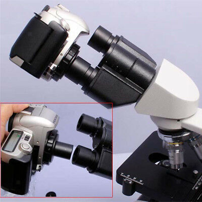 0.91 inch Microscope Mount Adapter T2 Lens Adaptor Ring for Canon DSLR Camera Bodies EOS 450D 500D 550D 600D 1100D T-mount