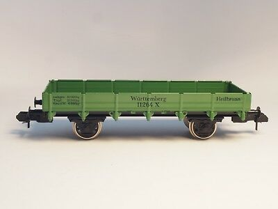 5481 MARKLIN Scale Maxi Low Side Car K.W.ST.E all METAL for out door use