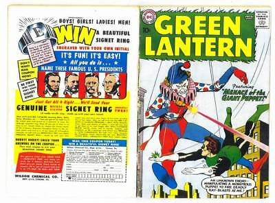 Facsimile reprint covers only to GREEN LANTERN #1 - 1960 Silver Age
