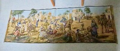 Exotic Middle Eastern Wall Tapestry