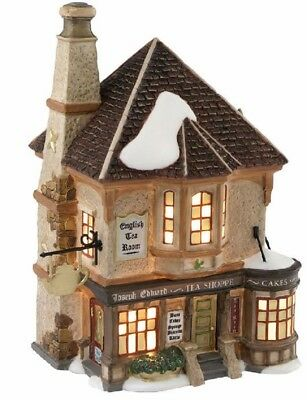 Department 56 Dickens Village Joseph Edward Tea Shoppe Lighted Building 4020183