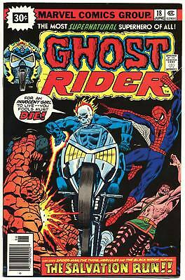 GHOST RIDER #18 F, 30¢ Cover Price Variant, Marvel Comics 1976