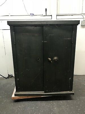 "1906 Safe Cabinet ""The Dick"" The Safe Cabinet Co. [*LOCAL PICK-UP ONLY] (610)"