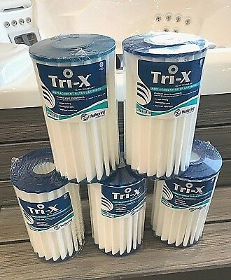 Tri-X Filter for Hot Spring Spa NEW TriX Filter 5-Pack 73178 (096960)