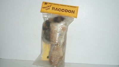 Original 1984 ROCKY THE RACCOON USA Magic Masters Spring Model -NEW IN PACKAGE