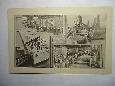 Old Postcard, NEW ORLEANS, LOUISIANA, HARBOR VIEW