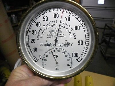 Abbeon Relative Humidity And Temperature Indicator Model M2A4B