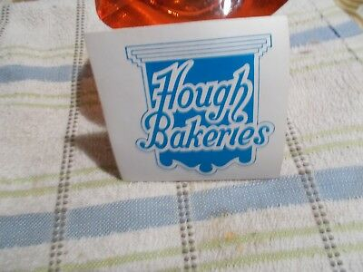 1950'S-   HOUGH   BAKERY  (CLEVELAND  OHIO) vintage    sticker   rare