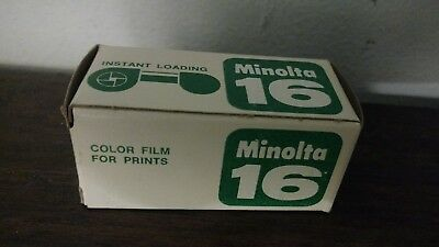 Minolta 16 Sealed Color Film for Slides ASA 100 DIN 20 Expired March 1973