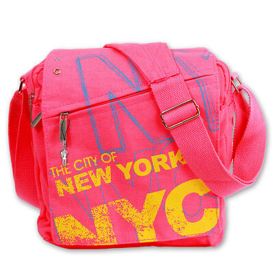 d88519bf4b5df Robin Ruth Cabas   Sac à Suspendre en Tissu Mat Rose Multicolore New York  City