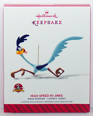 2014 Road Runner HIGH SPEED HI JINKS NEW Hallmark Looney Tunes Ornament BEEP