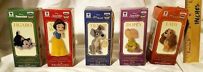 New Banpresto Disney World Collectable Figure Classic Set Of 5! Japan! Free Ship