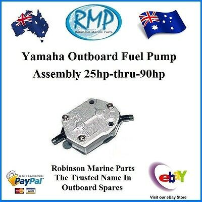 A Brand New Yamaha Outboard Fuel Pump Assembly 25hp-thru-90hp # R 692-24410-01