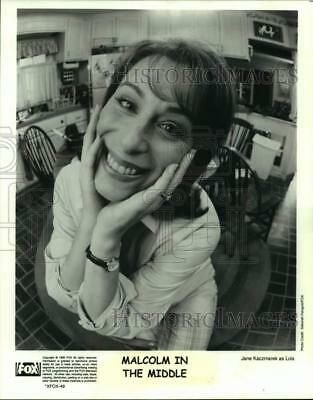 1999 Press Photo Actress Jane Kaczmarek as Lois in Malcolm in the Middle show