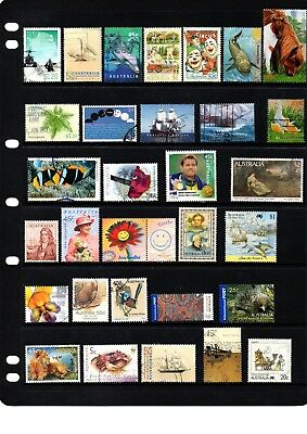 Australian sheet stamps, including high value, free post - off paper - Lot 367.