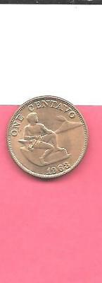 Philippines Km186 1963 Unc-Uncirculated Mint Old Vintage Centavo Bronze Coin