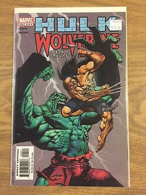 Hulk Wolverine Six Hours #4 2003 VF to NM, Closer to NM  Marvel