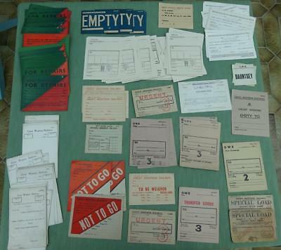 Large Collection of Early 20th Century GWR and BR (W) Ephemera